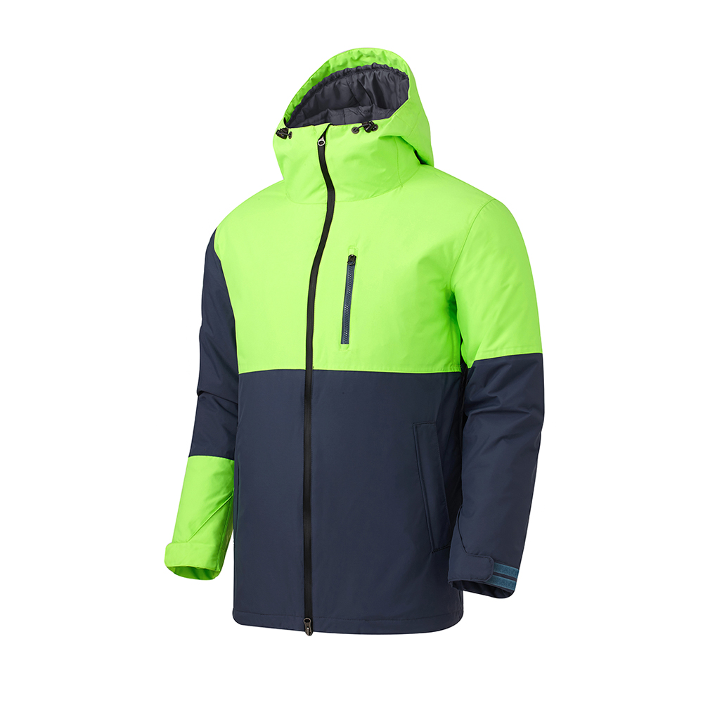 16 180˚ SWITCH SLIM JACKET (DARK GRAY/NEON GREEN)