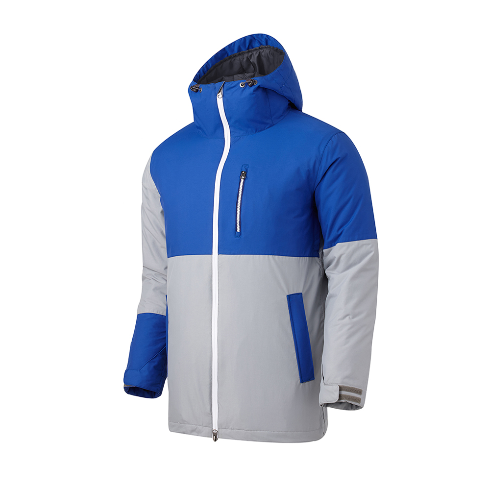 16 180˚ SWITCH SLIM JACKET (GRAY/ROYAL BLUE)