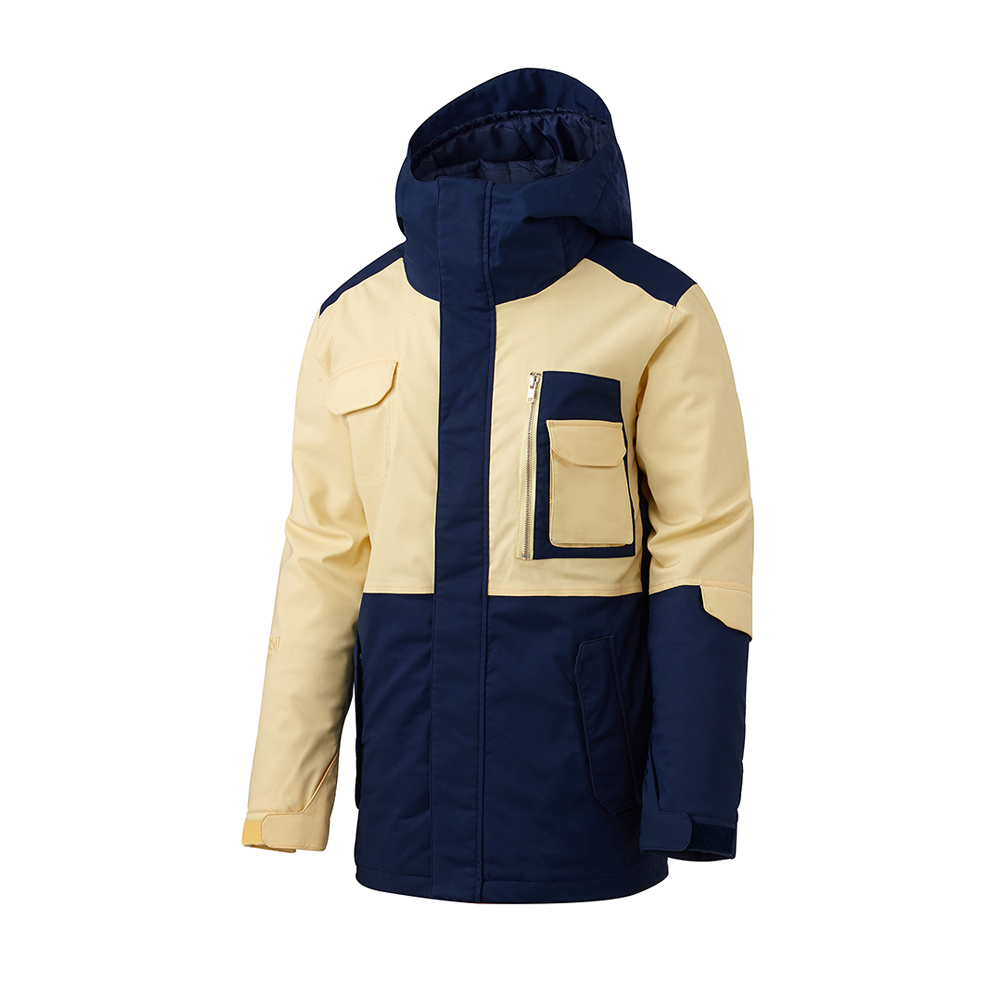 16 50:50 GRIND CLASSIC JACKET (YELLOW/NAVY)