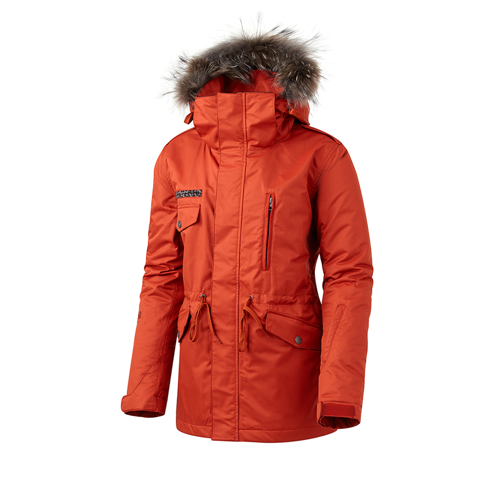 16 50:50 GRIND WANNA BE JACKET (DARK ORANGE)