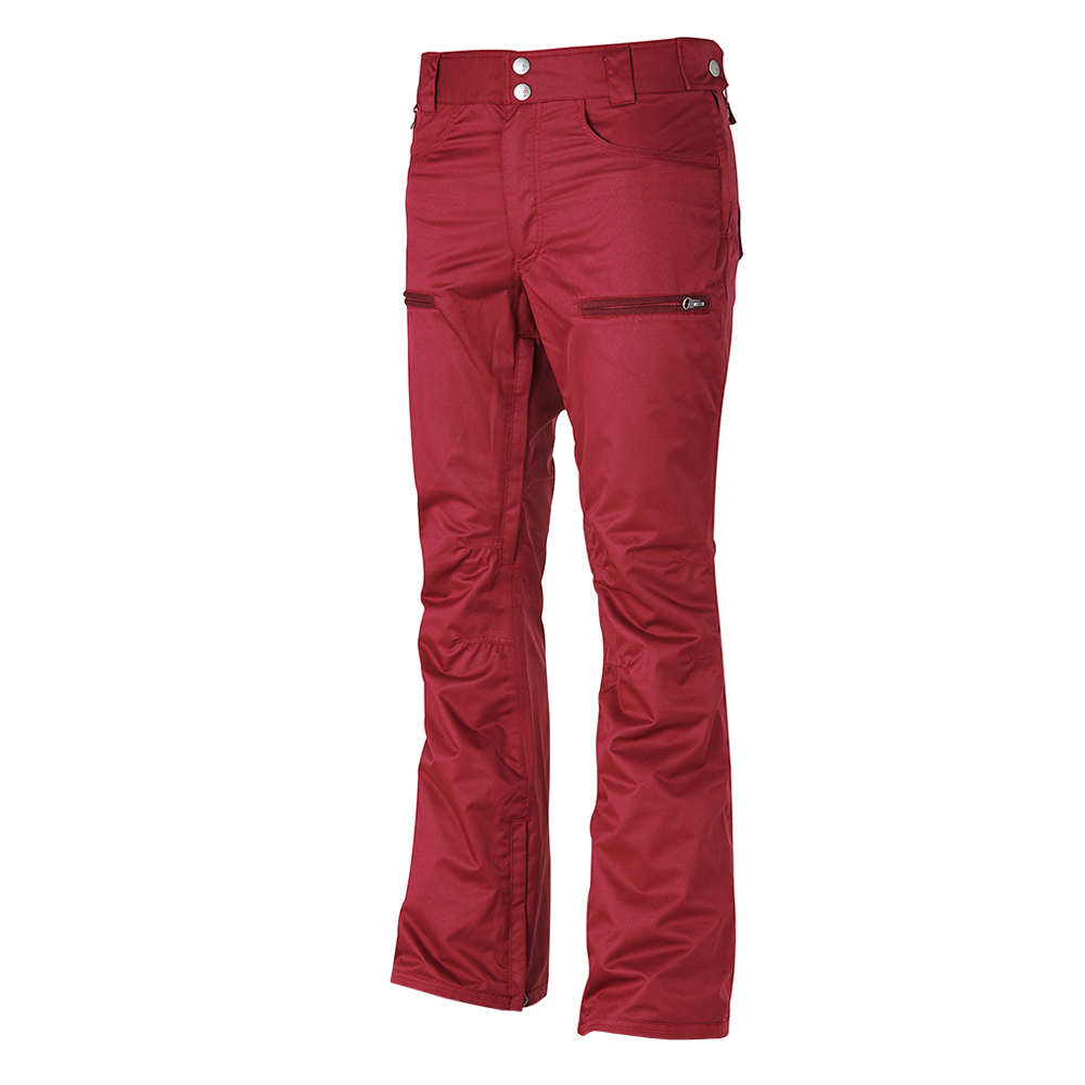 16 50:50 GRIND WANNA BE PANTS (BURGUNDY)